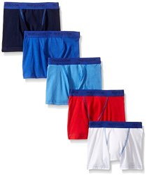 Fruit Of The Loom Toddler Boys' 5 Pack Stretch Boxer Brief Assorted 2T 3T