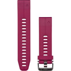 Garmin Cerise Quickfit 20MM Silicone Replacement Band