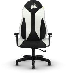 - TC60 Fabric Gaming Chair - White