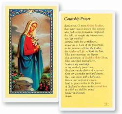 Laminated Holy Card Courtship Prayer