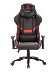 Redragon RD-C201-BR Coeus Gaming Chair in Black & Red