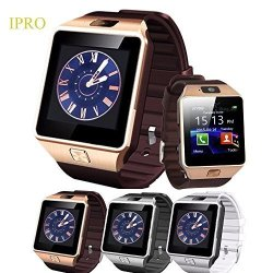 IPRO DZ09 Bluetooth Android Smartwatch With 2 Mp Camera GSM Sim&tf Card Support Pedometer Outdoors A