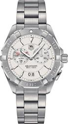 Tag Heuer Aquaracer Chronograph Silver Opalin Dial Stainless Steel Me