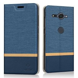 newest collection c5599 a790b Riffue Sony Xperia XZ2 Compact Case Wallet Case Ultra Thin Pu Leather Flip  Case Shockproof Foldable Book Style With Retro Denim | R635.00 | Cellphone  ...