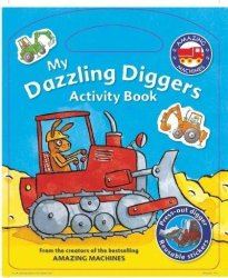 Amazing Machines Tough Trucks Activity Book Paperback