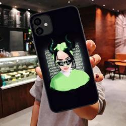 Gentra Billie Eilish Rainbow Blohsh Ocean Eyes Bad Guy Soft Tpu Phone Case For Iphone 11 11 Pro Max 2019 7 8 Plus X