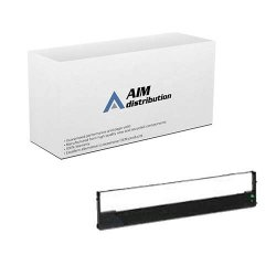 Aim Compatible Replacement For Tallygenicom T2040 MT130 150-9 24 Black Printer Ribbons 6 PK MMT05220 - Generic