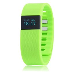 GREEN Bluetooth Smartband Smart Watch Wristband Wrist Band Wrap With Pedometer For Android Ios