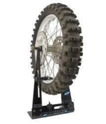 Goplus Motorcycle Bike Rim Tire Wheel Balancer Balancing Spin Static Truing Stand