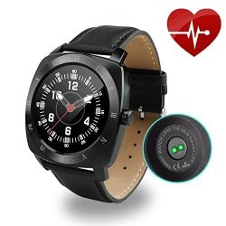 Aipker Bluetooth Smartwatch With Heart Rate Monitor For Ios Android Smart Phones