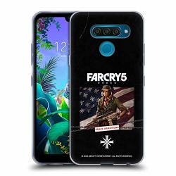 Official Far Cry Grace Armstrong 5 Characters Soft Gel Case Compatible For LG Q60