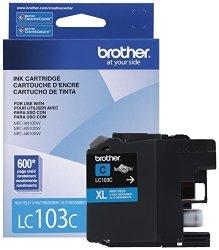 Brother Printer LC103C High Yield Cartridge Ink Cyan