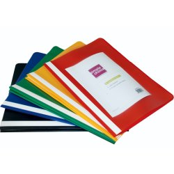 SIMPLE CHOICE A4 Quotation Folders 10PC Assd