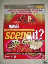 Marvel Scene It? To Go : The DVD Game