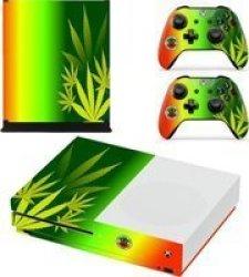 SKIN-NIT Decal Skin For Xbox One S: Rasta Weed