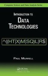 Introduction To Data Technologies Hardcover