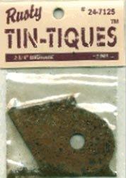 "Rusty Tin-tiques 24-7125 - 2 3 4"" Birdhouse - 3 Pieces pkg - Six Packages Total 12"