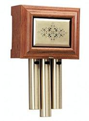 Nutone LA305WL Traditional Wired Musical Door Chime Walnut