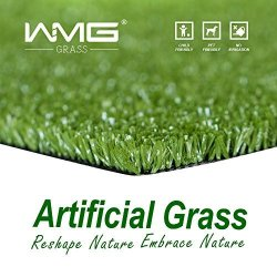 Wmg Artificial Grass 3' X 8' Perfect Color sizing? Customized Size ? For Any Indoor outdoor Uses And Decorations Patio Fence Gar