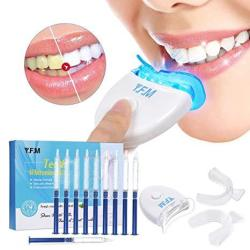 Teeth Whitening Y.f.m Teeth Whitening Kit With LED Accelerator Light Professional Dental Whitener Home Teeth Whitener System Tee