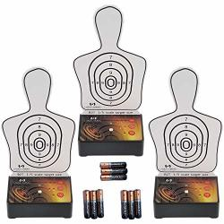 Interactive Multi Target Training System 3 Pack - Use Alone Or As An Add-on To Another Laser Ammo Package To Create Countless Tr