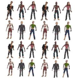 Ciofo Terror Corpse Action Figures Zobmies Vampire Set Kids Toys 24 Pcs 2 Dozen