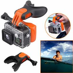 Briday Mouth Mount Floaty Surf Scuba Mouth Piece For Gopro Hero 7 Gopro Hero 6 Gopro Hero 5 Gopro Hero 4 Gopro Hero 3+