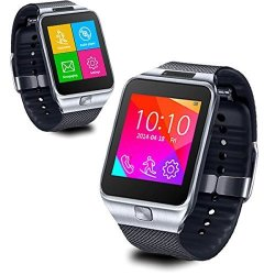 InDigi SWAP2 GSM Wireless Bluetooth Smart Watch Phone MP3 Spy Camera Unlocked Si