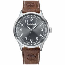 Timberland Men's 15907JYS61 Alford Brown silver gray Watch