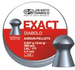 JSB Exact 4.5MM Pellets - 500 Pack