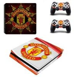 Decal Skin For PS4: Manchester United Red + White