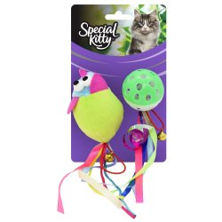 SPECIAL KITTY Cat Toys Assorted Value Pack