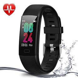 Fitness Tracker Airbinifit For Kids Waterproof Activity Tracker With Heart Rate Monitor Pedometer Watch Clock Sleep Monitor Stopwatch Step Counter For Boys And Girls Teens