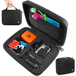CamKix Carrying Case For Gopro Hero 4 Black Silver Hero+ Lcd 3+ 3 2 And Accessories - Ideal For Travel Or Home Storage