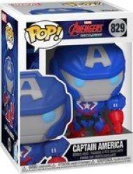 Pop Marvel Avengers: Mech Strike - Captain America Figure