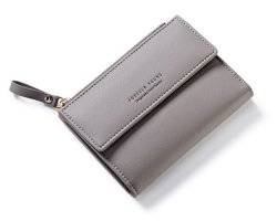 Weichen Women's Short Wallet Pu Leather Clutch