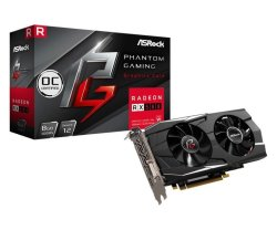 Asrock Radeon RX580 8GB Phantom Gaming D Overclocked Graphics Card