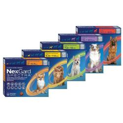 Nexgard Spectra For Dogs - Single 7.6-15KG Medium Green