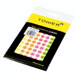 Tower 10MM Stickers Fluorescent 715PC