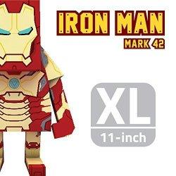 MOMOT Paper Craft Toy - Marvel Iron Man Mark 42 11-INCH XL Size 30CM