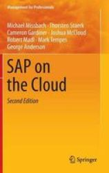 Sap On The Cloud 2016 Hardcover 2nd Revised Edition