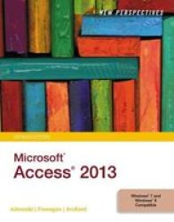 New Perspectives On Microsoft Access 2013 Introductory Paperback