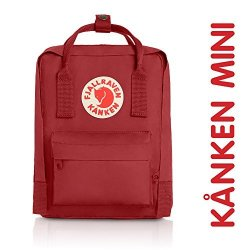 c7e1112f33 Fjallraven Kanken MINI Daypack Deep Red