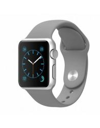 38MM Silicone Apple Watch Strap By Zonabel - Grey