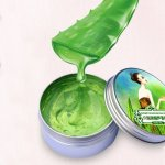 100 Pure Natural Aloe Vera Gel Wrinkle Removal Moisturizin Anti Acne Anti-sensitive Oil-control 30G