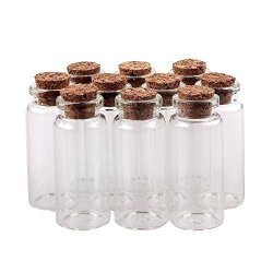 f30b29de3f3a EUBUY MINI Empty Clear Glass Decorative Bottles Jars Message Charms Wedding  Favors With Cork Stoppers 2250MM 30PCS | R640.00 | Educational | ...