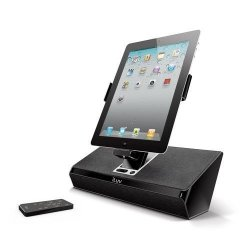 Iluv IMM727BLK Artstation Stereo Speaker Dock With Remote For The Apple Ipad 3-3G Ipad 2 WIFI 3G Model 16GB 32GB 64GB Est Model For
