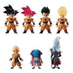 Japan Import Bandai Shokugan Dragon Ball Adverge 5 Action Figure Pack Of 10