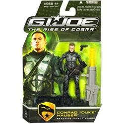 "Hasbro G.i. Joe The Rise Of Cobra 3 3 4"" Action Figure Conrad Duke Hauser Reactive Impact Armor"