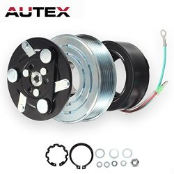 AUTEX Ac A c Compressor Clutch Coil Assembly Kit 38800RZYA010M2 80221SNAA01  8851502200 Replacement For 2007 2008 2009 2010 2011 2012 2013 2014 Honda